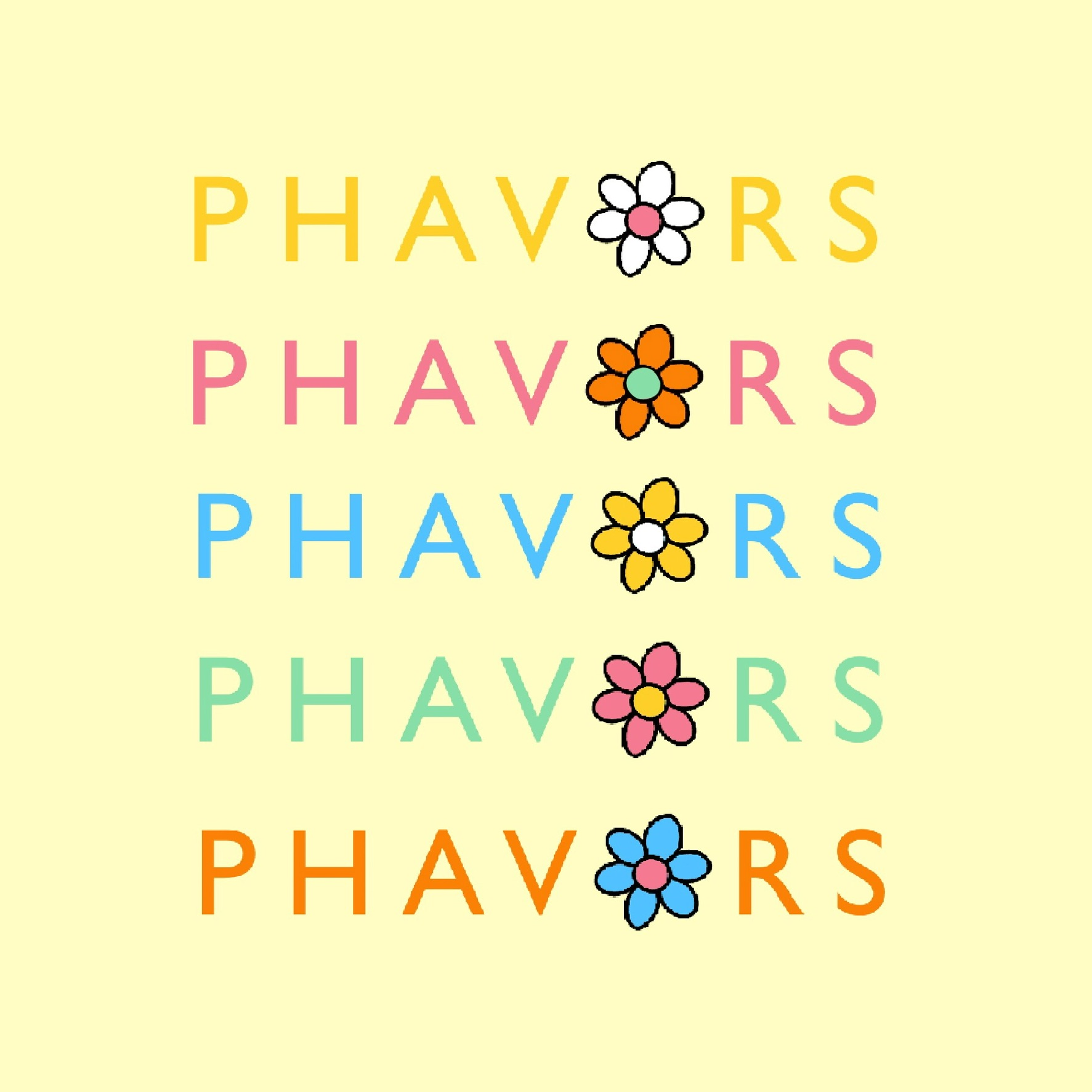 Phavors logo graphic